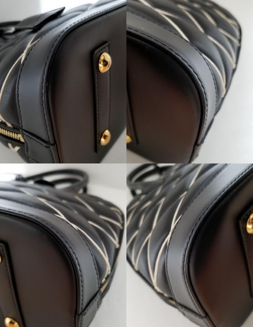 Limited Edition Louis Vuitton Black Diamond Alma PM - 4