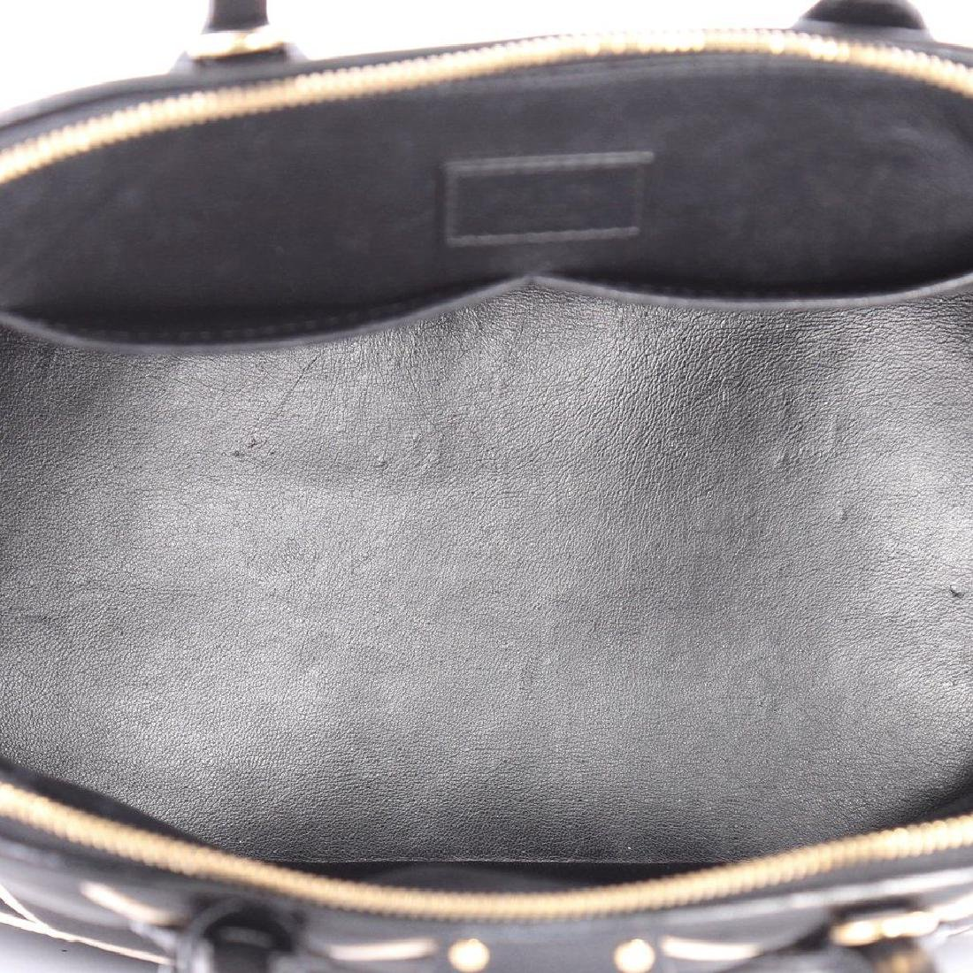 Limited Edition Louis Vuitton Black Diamond Alma PM - 6