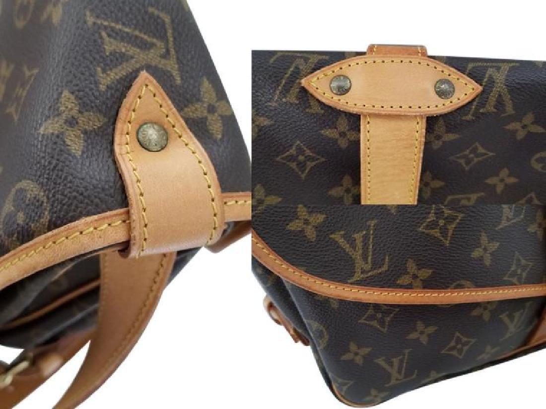 Louis Vuitton Monogram Saumur 35 GM Postal Shoulder Bag - 10