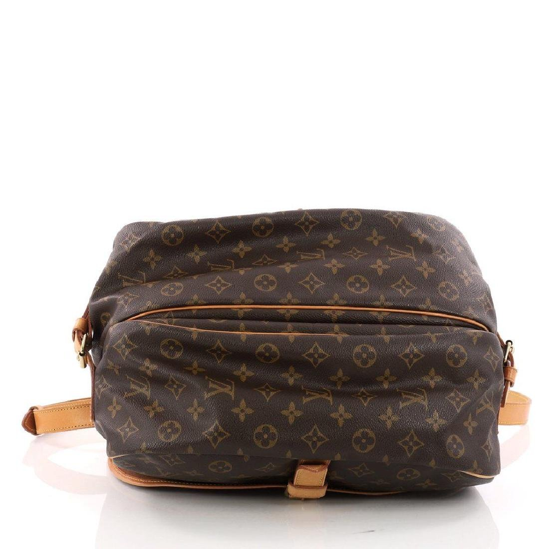 Louis Vuitton Monogram Saumur 35 GM Postal Shoulder Bag - 4