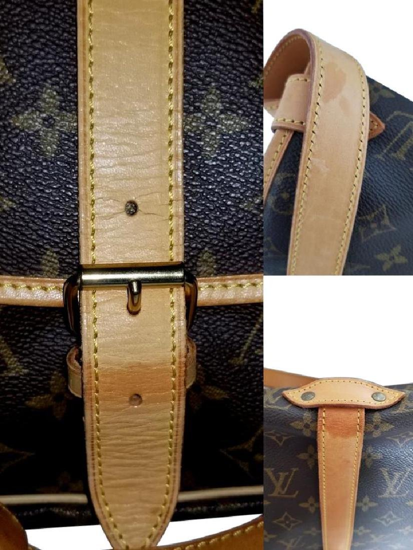 Louis Vuitton Monogram Saumur 35 GM Postal Shoulder Bag - 8