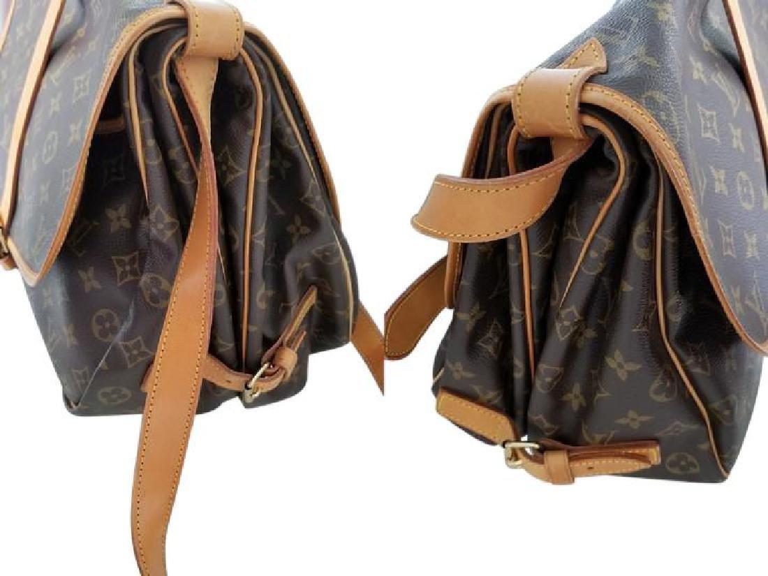 Louis Vuitton Monogram Saumur 35 GM Postal Shoulder Bag - 9