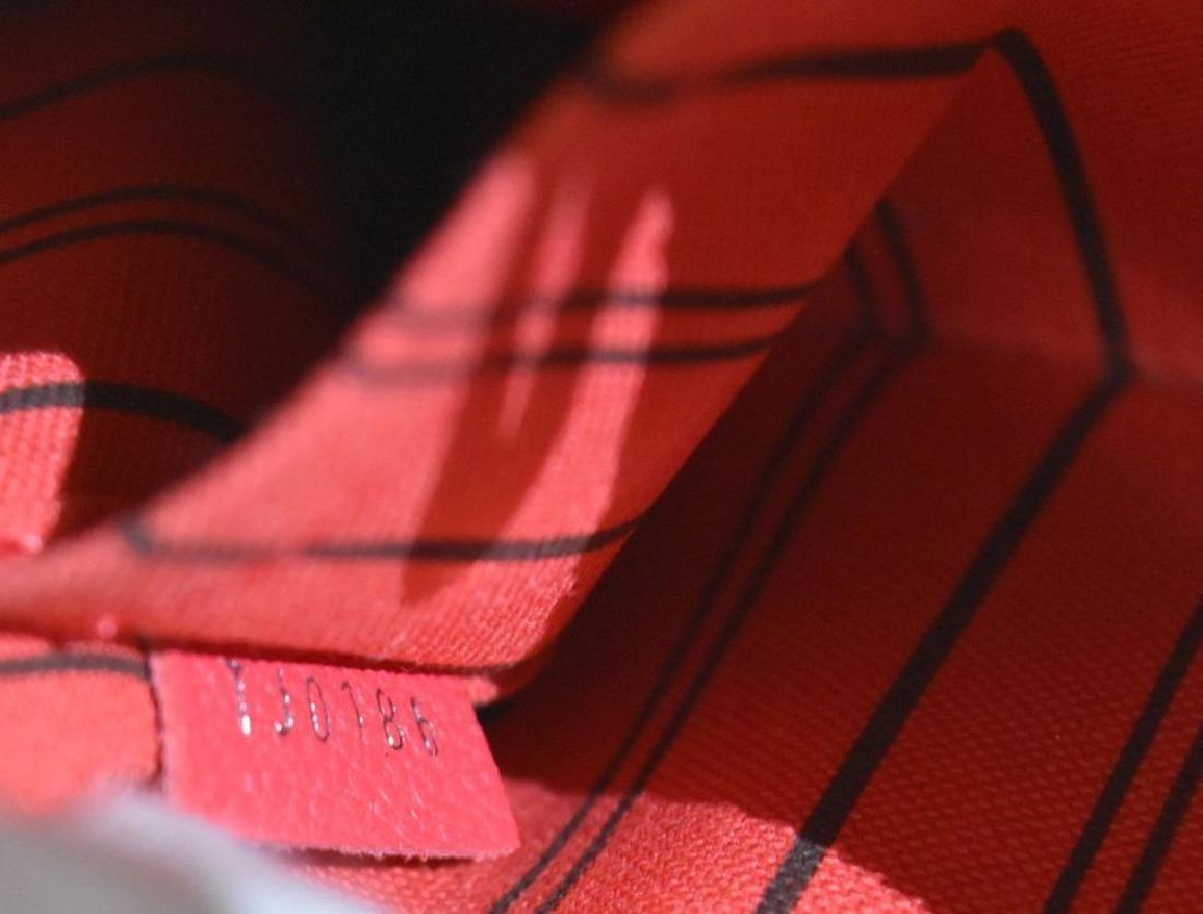 Louis Vuitton Empreinte Red Montaigne BB Satchel with - 6