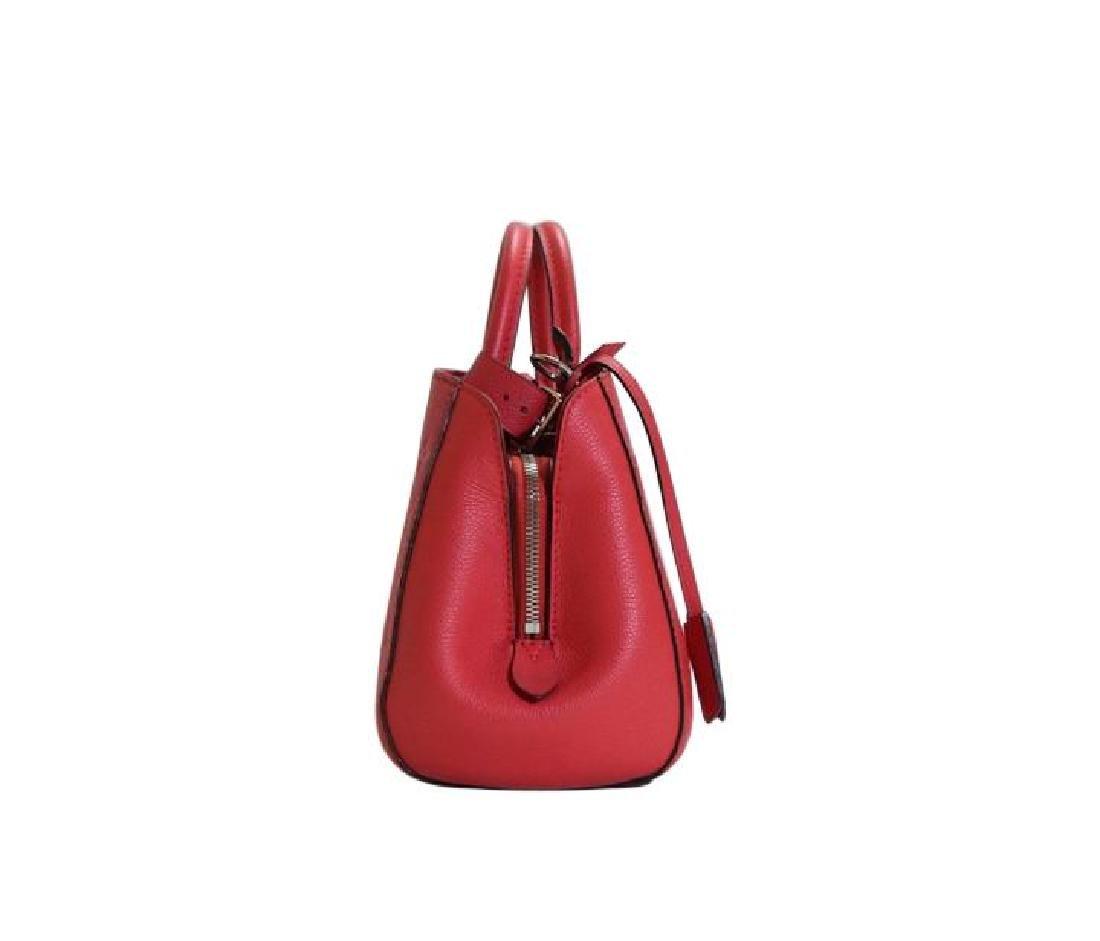 Louis Vuitton Empreinte Red Montaigne BB Satchel with - 7