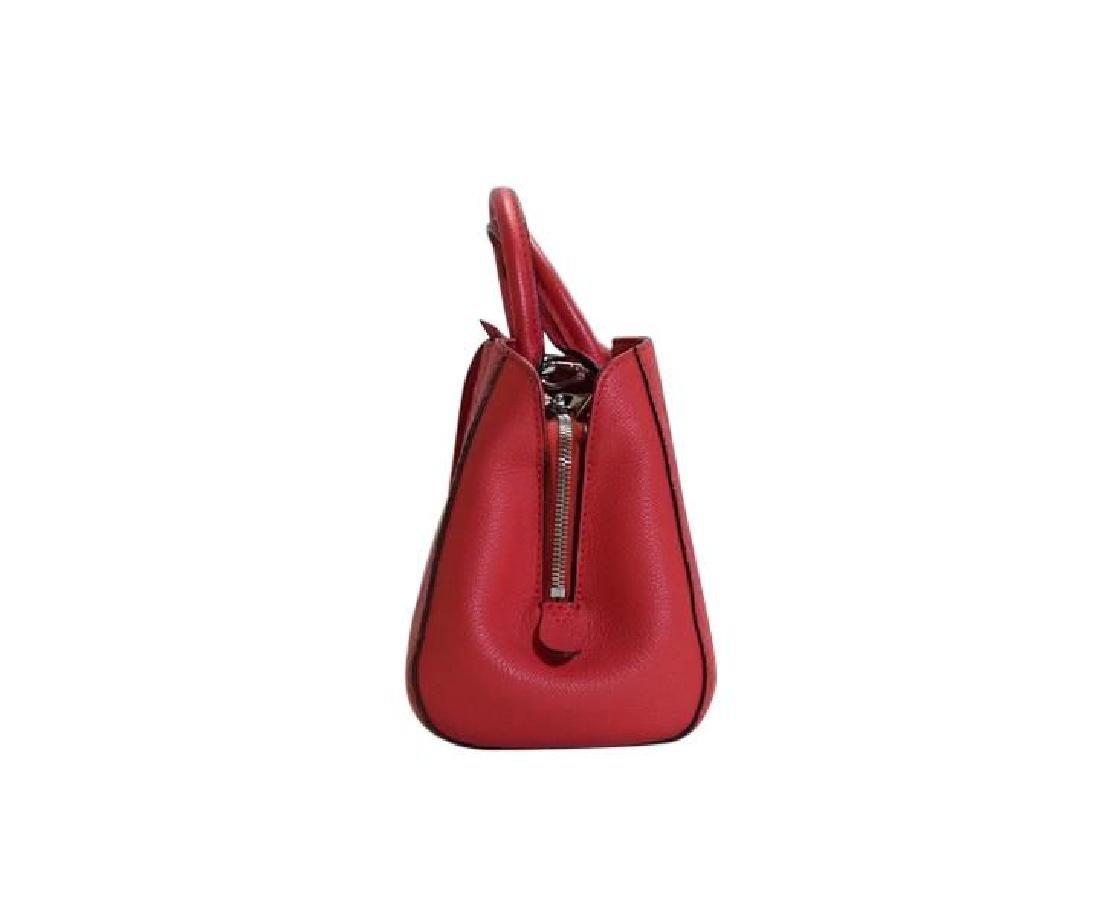 Louis Vuitton Empreinte Red Montaigne BB Satchel with - 8