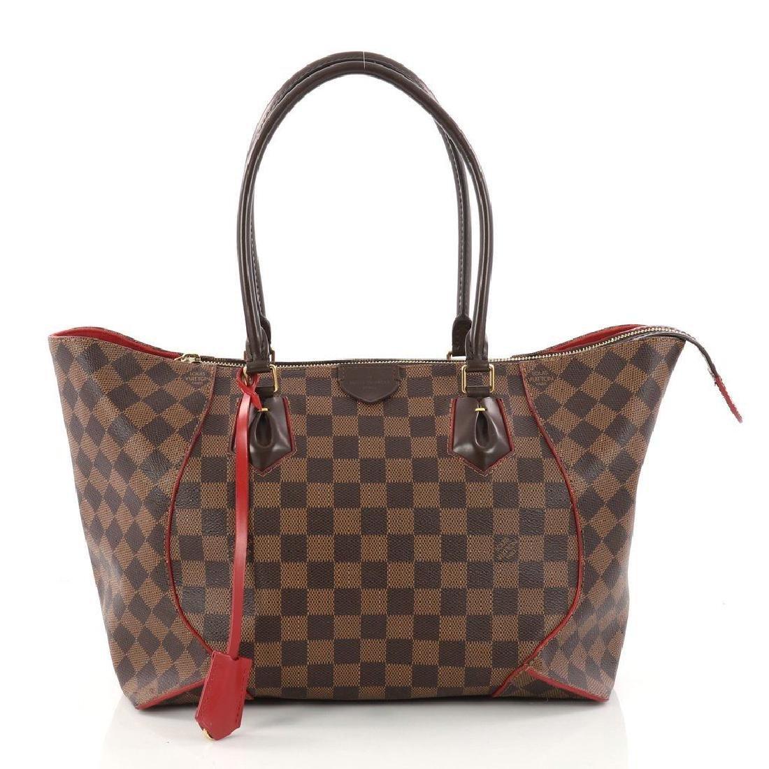 Louis Vuitton Caissa Damier Red Shoulder Bag - 3