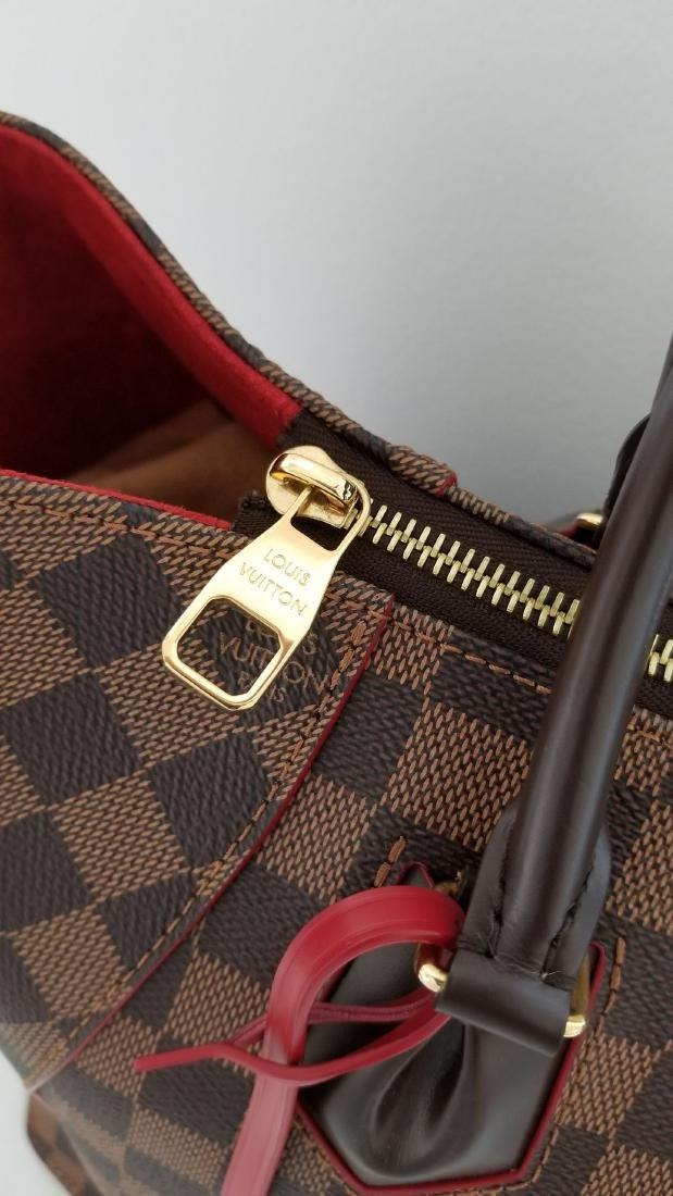 Louis Vuitton Caissa Damier Red Shoulder Bag - 4