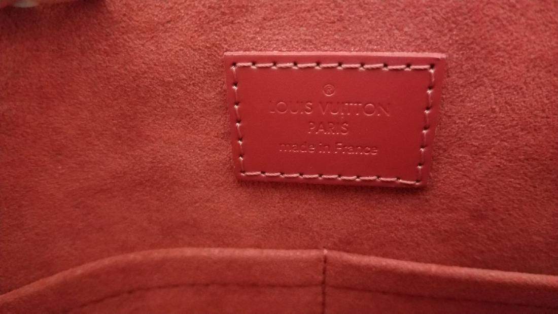 Louis Vuitton Caissa Damier Red Shoulder Bag - 9