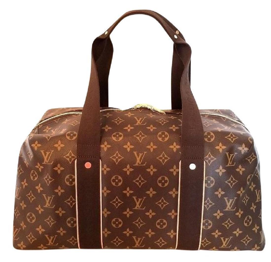 Louis Vuitton Monogram Beaubourg GM Duffle Bag.