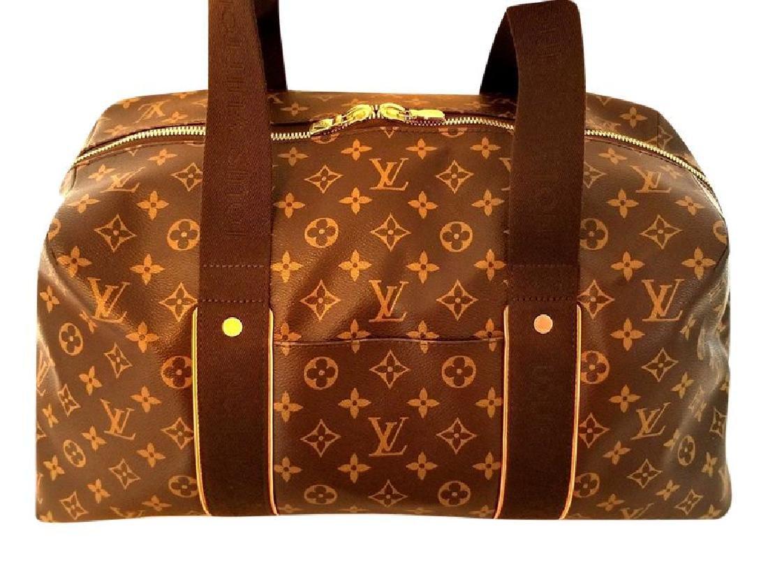 Louis Vuitton Monogram Beaubourg GM Duffle Bag. - 3
