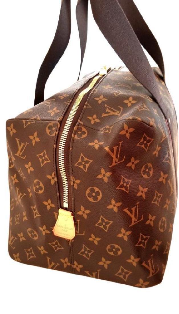 Louis Vuitton Monogram Beaubourg GM Duffle Bag. - 4