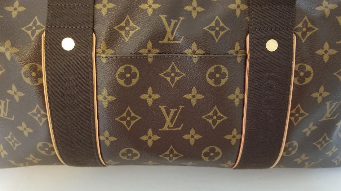 Louis Vuitton Monogram Beaubourg GM Duffle Bag. - 7
