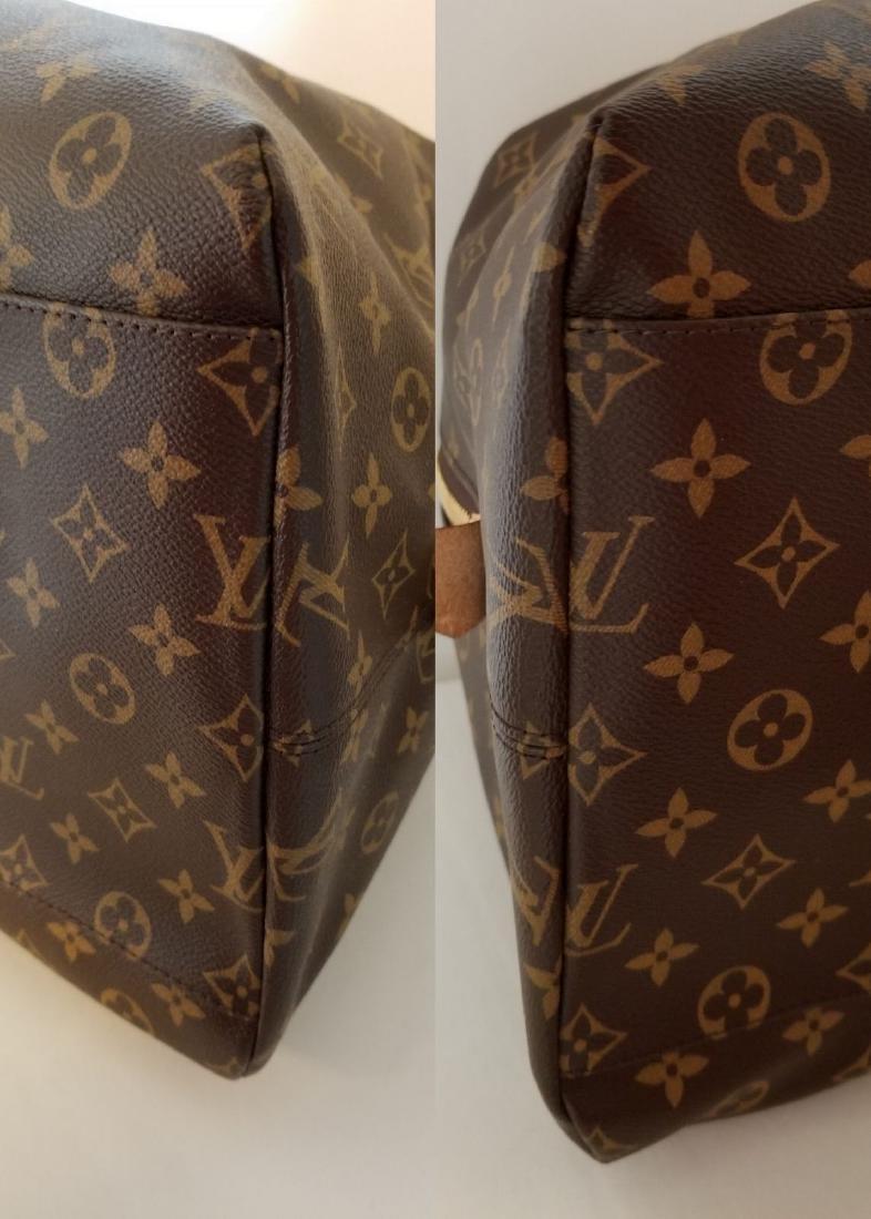 Louis Vuitton Monogram Beaubourg GM Duffle Bag. - 8