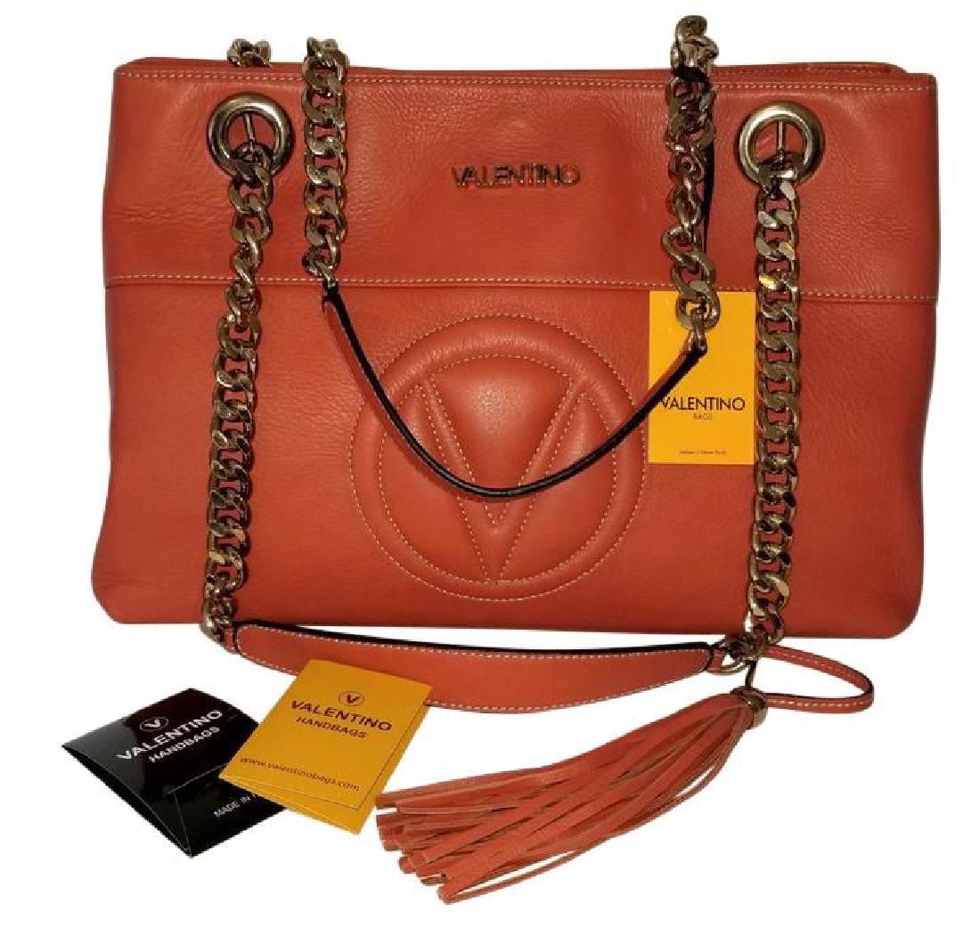 Mario Valentino Karina Italian Leather Shoulder Bag