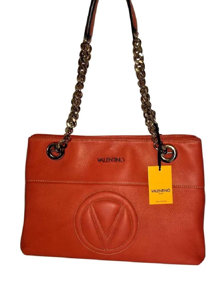 Mario Valentino Karina Italian Leather Shoulder Bag - 2