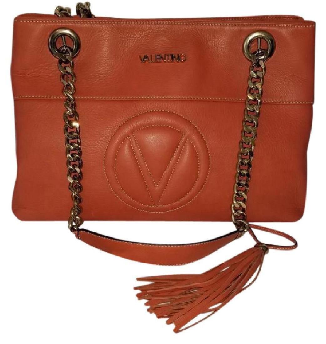 Mario Valentino Karina Italian Leather Shoulder Bag - 3