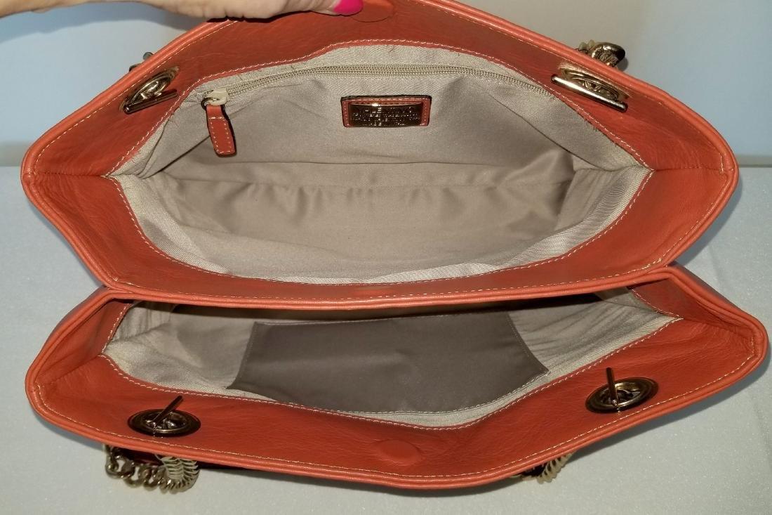 Mario Valentino Karina Italian Leather Shoulder Bag - 6