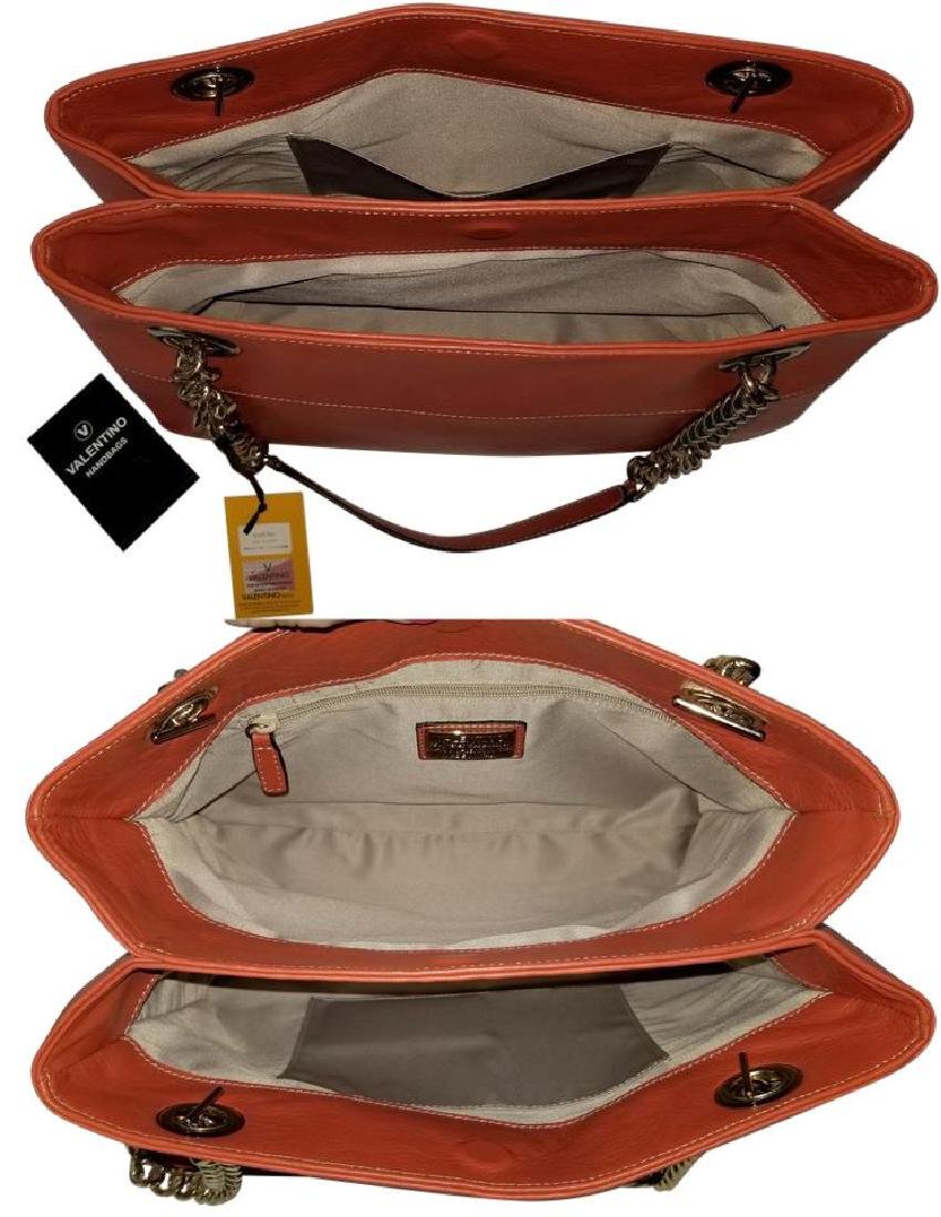 Mario Valentino Karina Italian Leather Shoulder Bag - 8