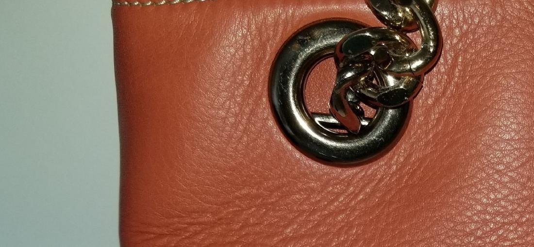 Mario Valentino Karina Italian Leather Shoulder Bag - 9