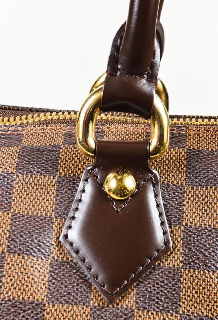Louis Vuitton Damier Ebene Saleya GM Tote Shoulder Bag - 6