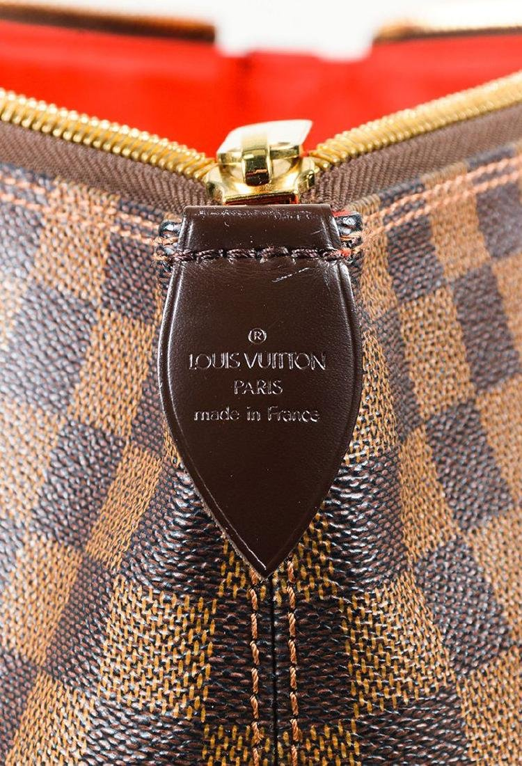 Louis Vuitton Damier Ebene Saleya GM Tote Shoulder Bag - 7