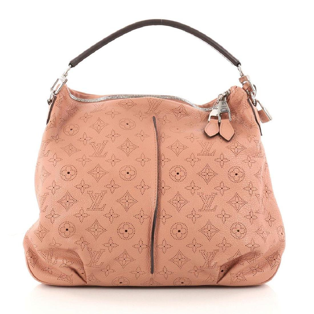 Louis Vuitton Selene Mahina Handbag Pm Pink Salmon - 2