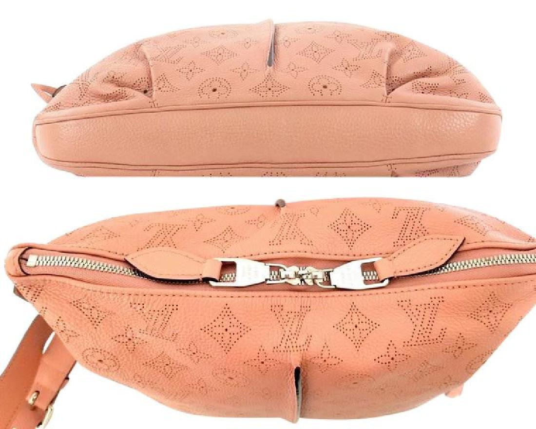 Louis Vuitton Selene Mahina Handbag Pm Pink Salmon - 5