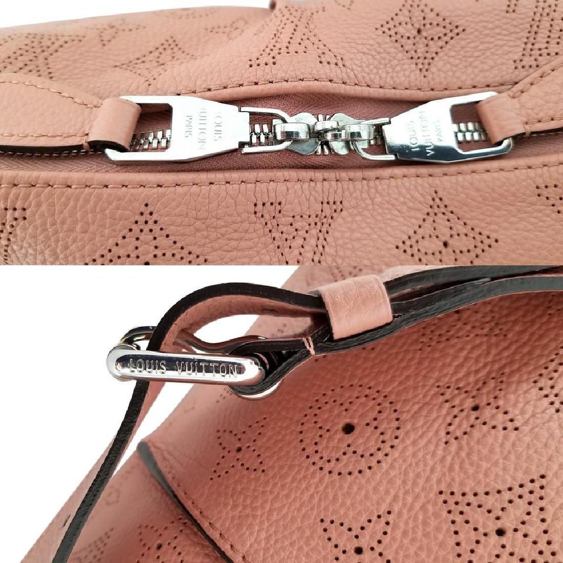 Louis Vuitton Selene Mahina Handbag Pm Pink Salmon - 8