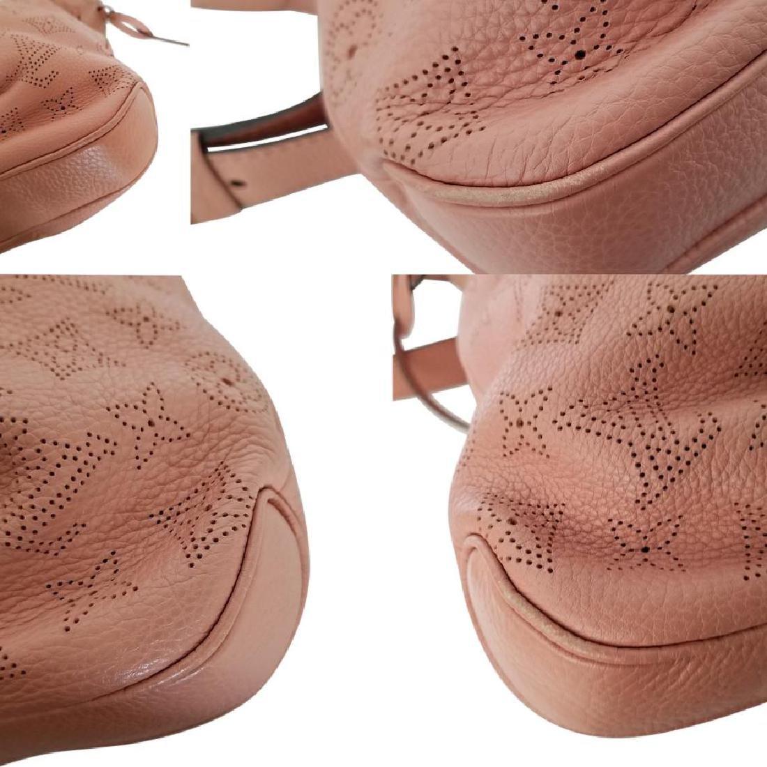 Louis Vuitton Selene Mahina Handbag Pm Pink Salmon - 9