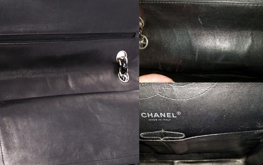 Classic Double Flap Jumbo Maxi Black Patent Leather - 7