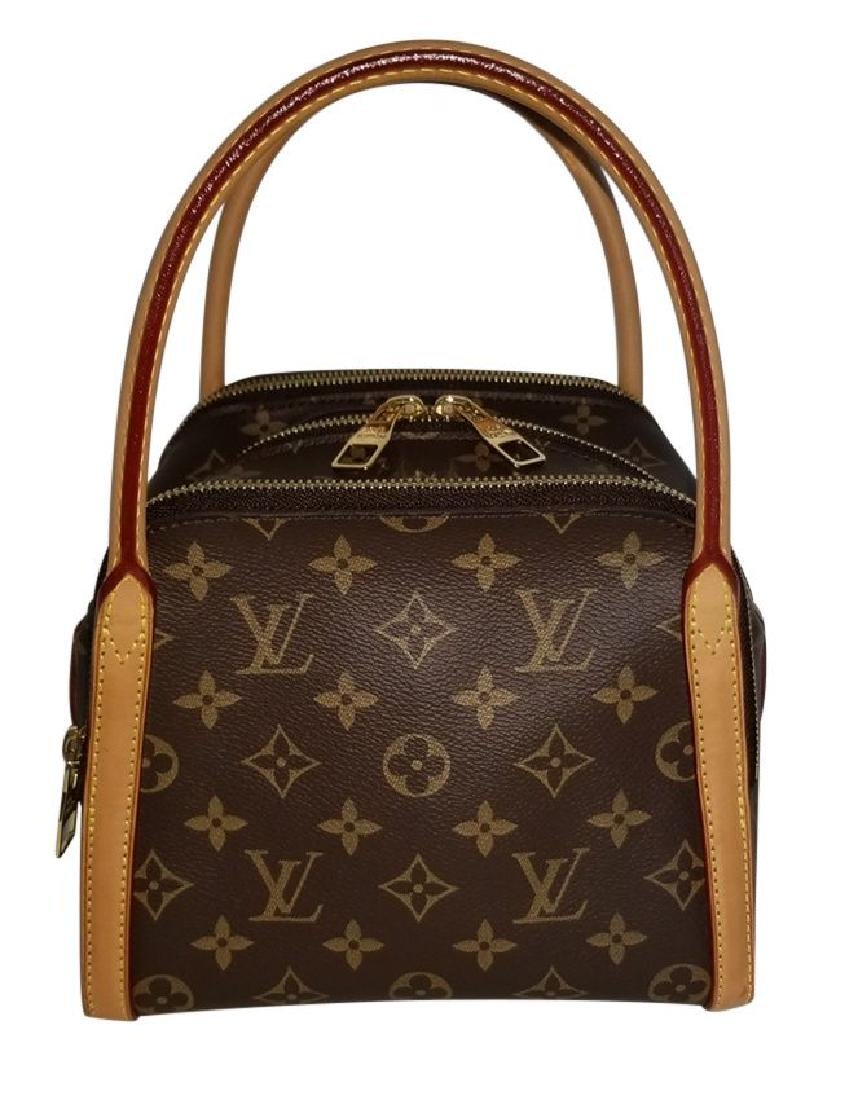 Louis Vuitton Monogram Male Marais BB Satchel Bag - 2