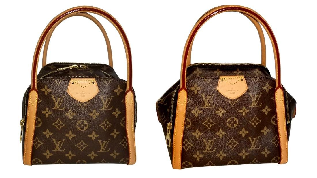 Louis Vuitton Monogram Male Marais BB Satchel Bag - 3