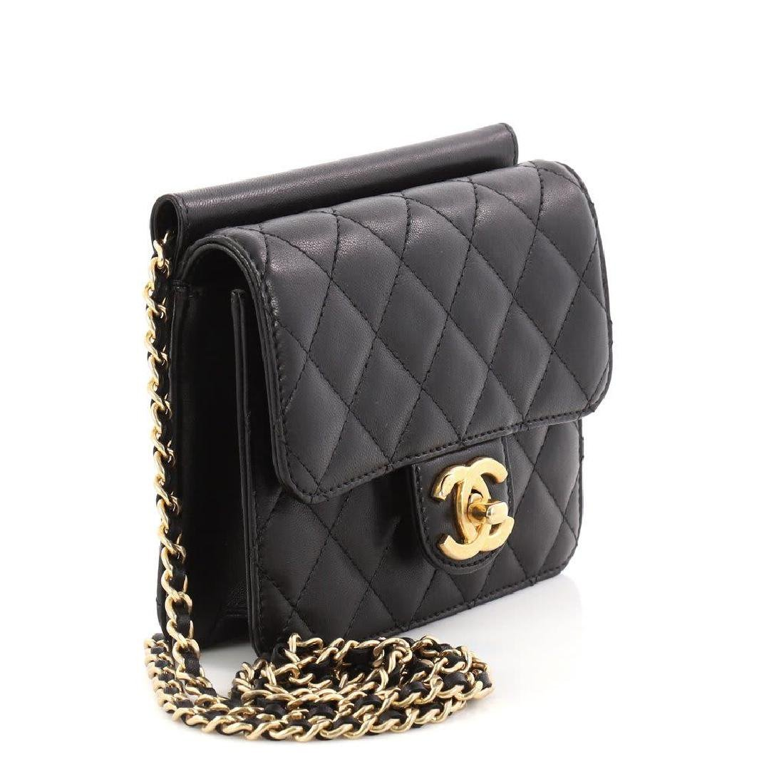 Chanel Mini Quilted Lambskin Crossing Times Cross Body - 2