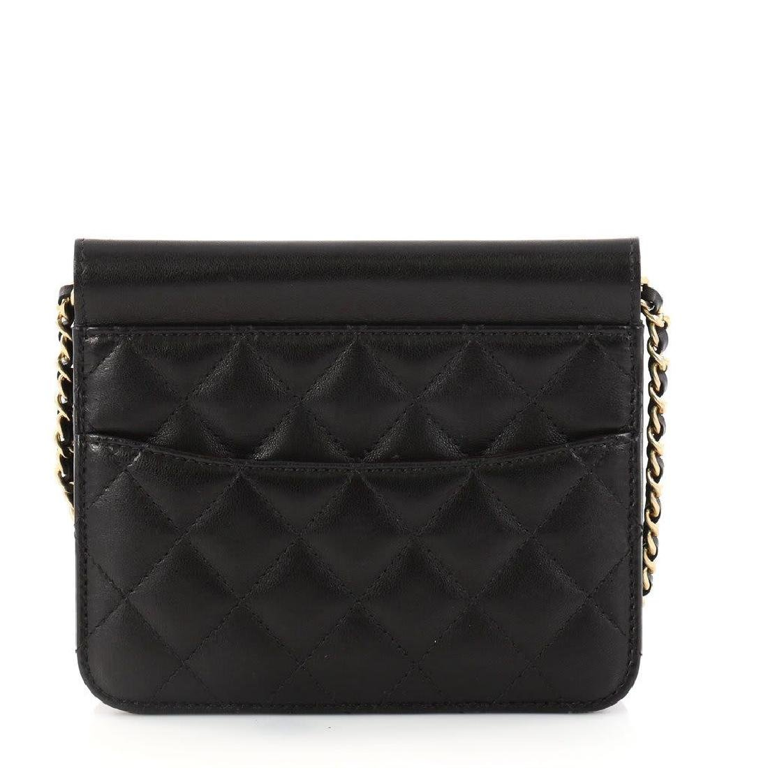 Chanel Mini Quilted Lambskin Crossing Times Cross Body - 3