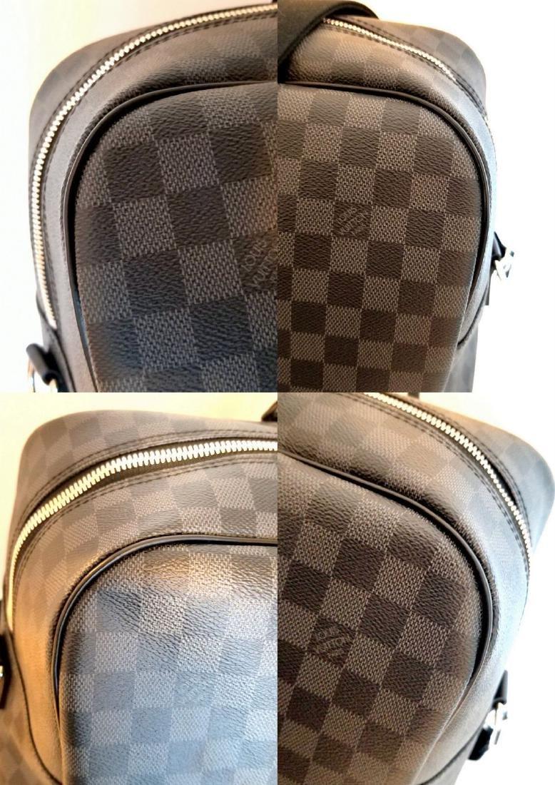 Louis Vuitton Neo Kendall Damier Graphite Duffle - 9