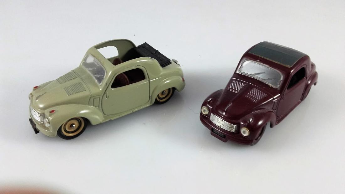 BRUMM - 1:43 Two FIAT 500C TOPOLINO Coupe - 2