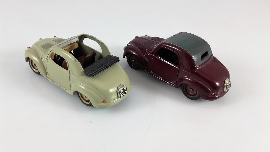 BRUMM - 1:43 Two FIAT 500C TOPOLINO Coupe - 3