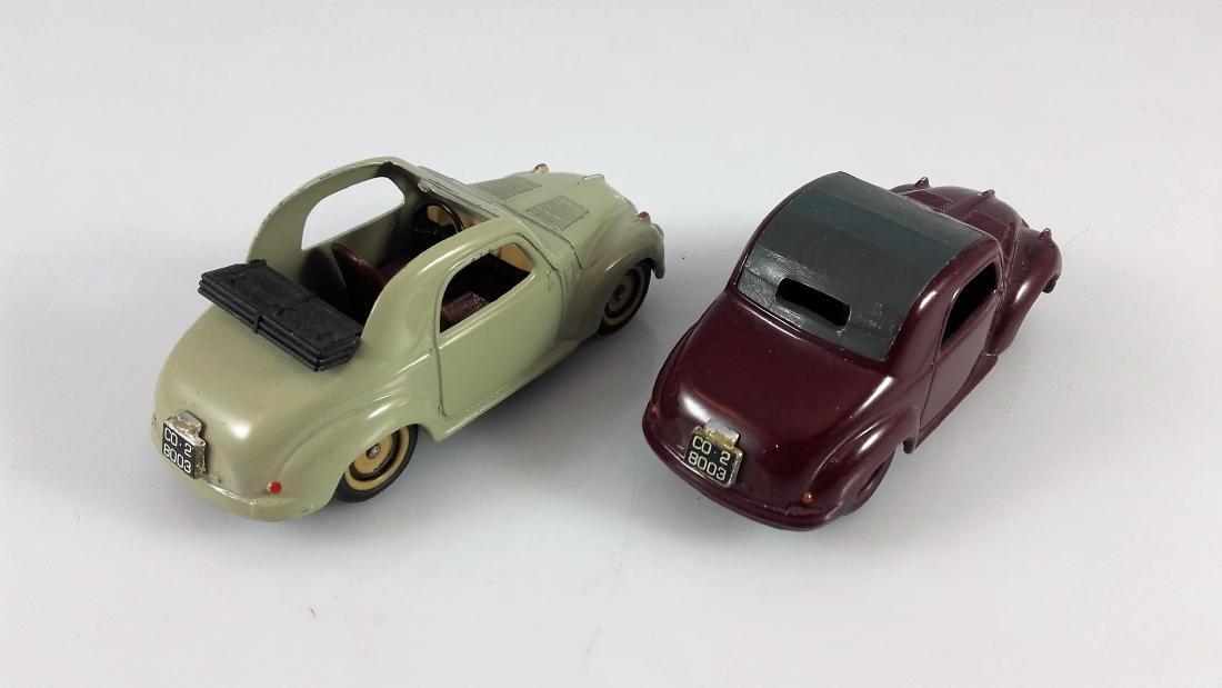 BRUMM - 1:43 Two FIAT 500C TOPOLINO Coupe - 4