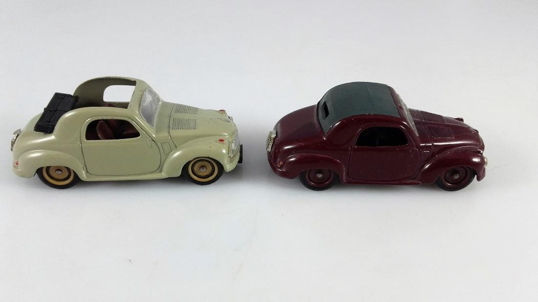 BRUMM - 1:43 Two FIAT 500C TOPOLINO Coupe - 5