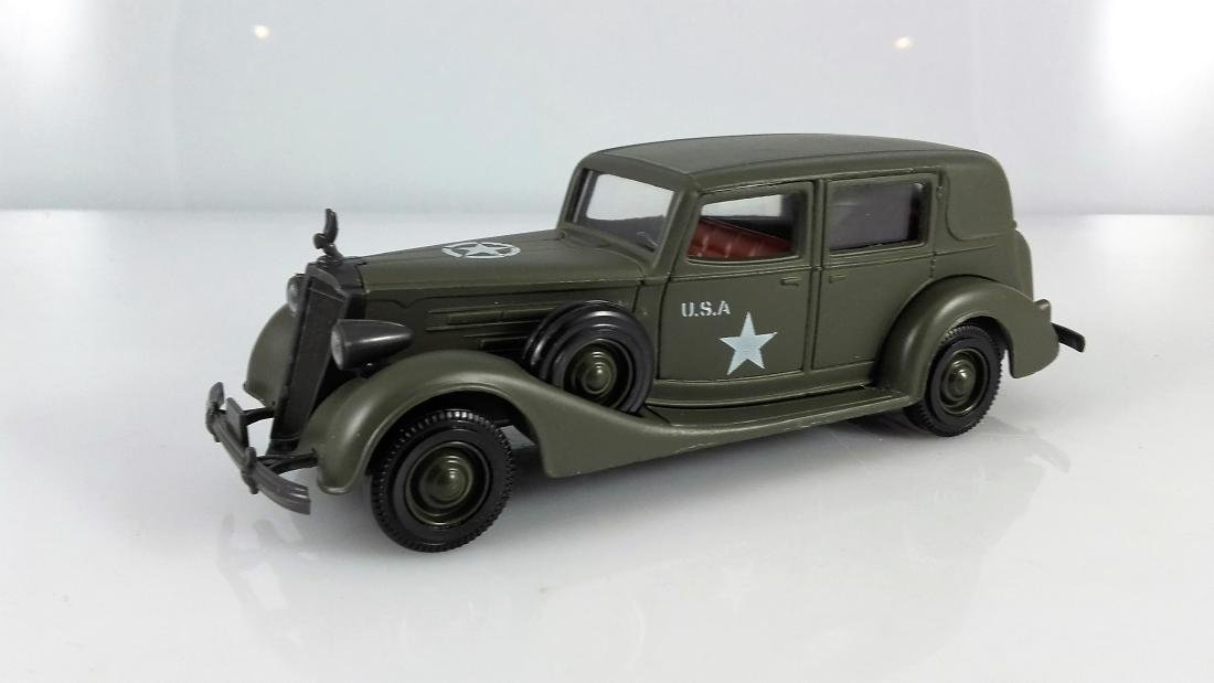 SOLIDO MILITARY - 1:43 - PACKARD ARMY HQ STAFF CAR,