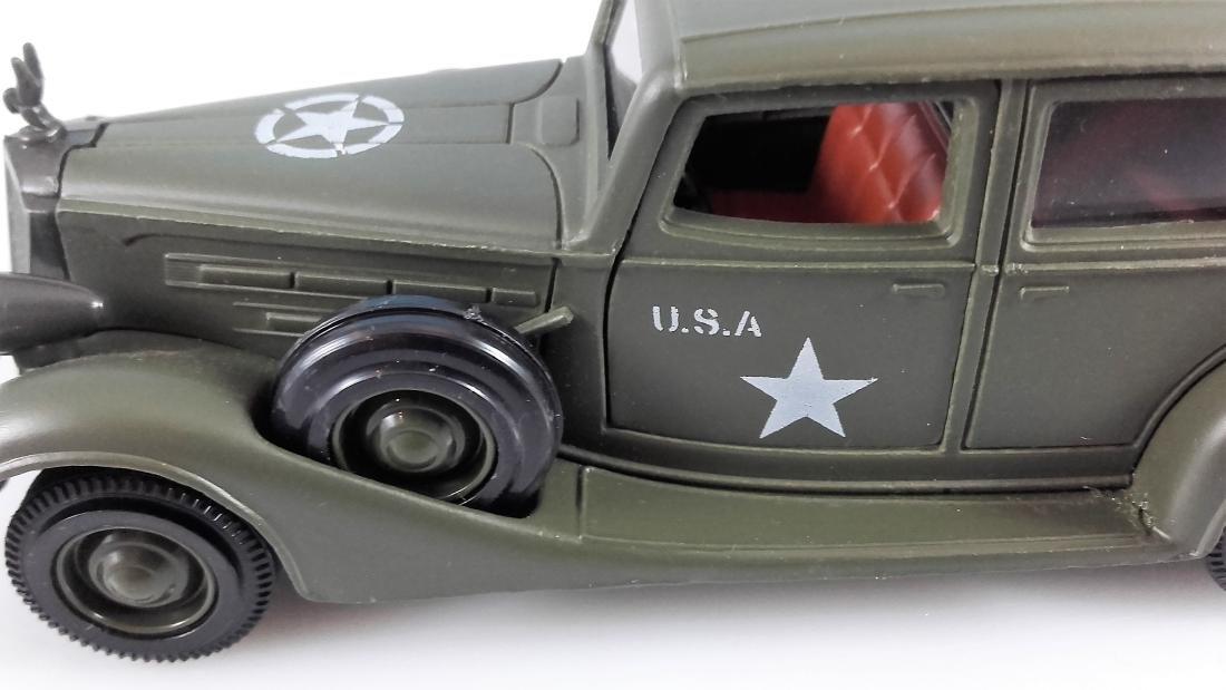 SOLIDO MILITARY - 1:43 - PACKARD ARMY HQ STAFF CAR, - 5