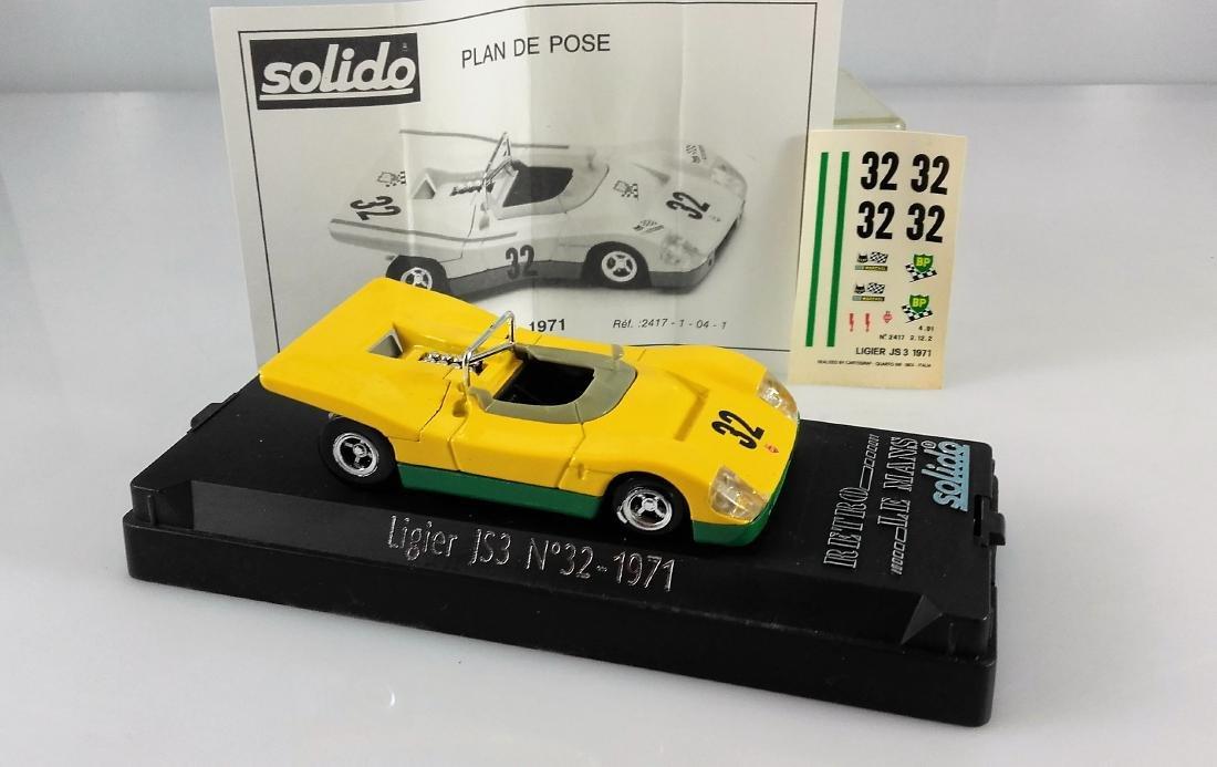 SOLIDO -1:43 JS3 FORD N 32 24h LE MANS 1971 - 5