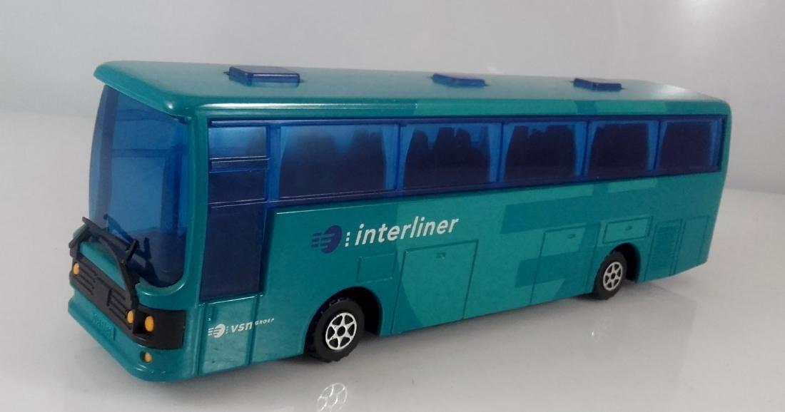 Majorette 1:50 Diecast Rare Autocar Dutch Interliner