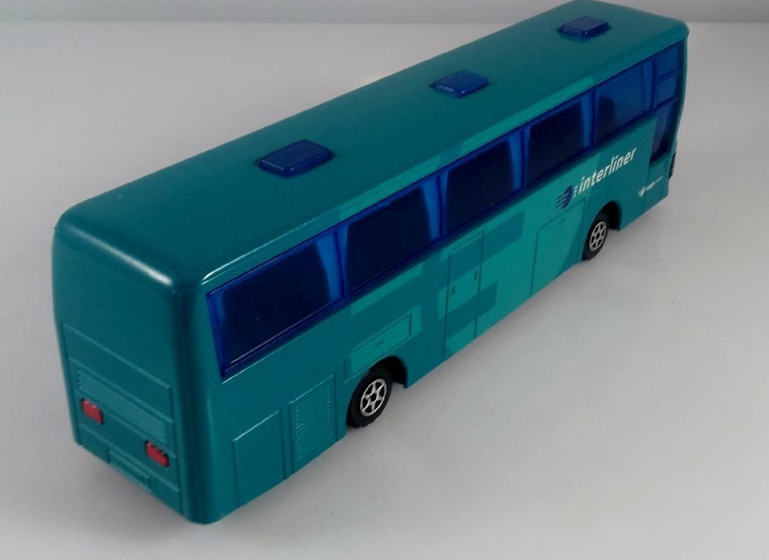 Majorette 1:50 Diecast Rare Autocar Dutch Interliner - 4