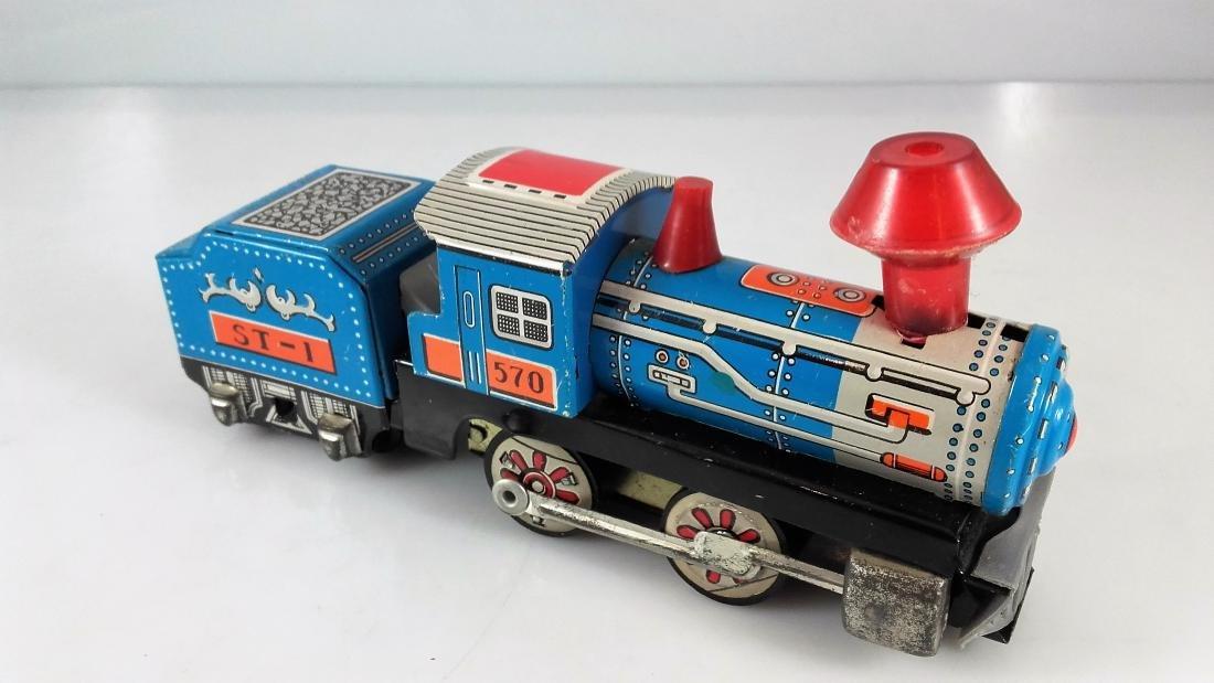 BIL-BAO wind-up train / friction steam locomotive - 9