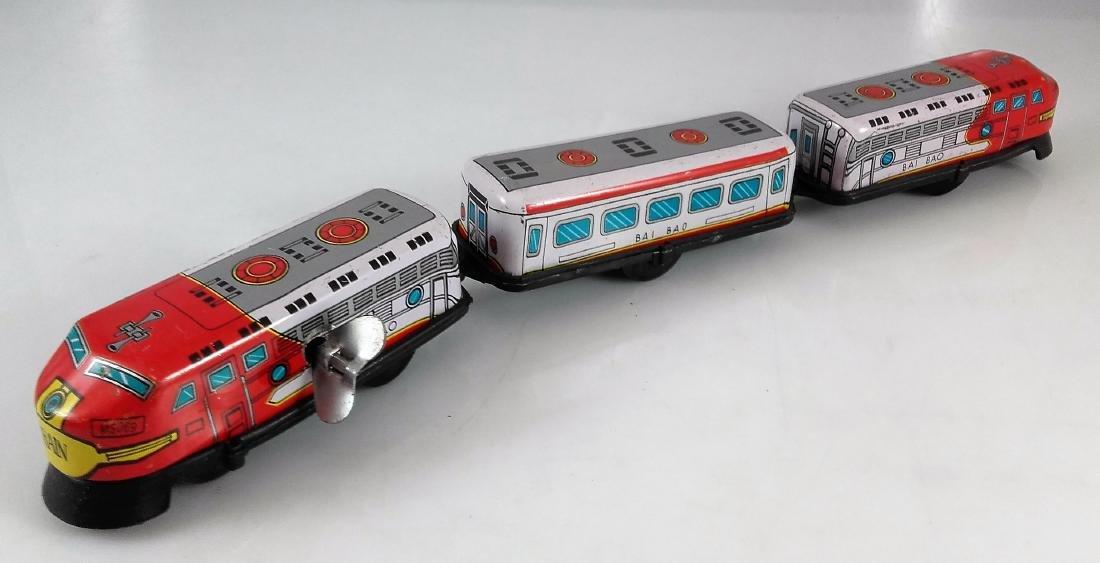 BIL-BAO wind-up train / friction steam locomotive - 2
