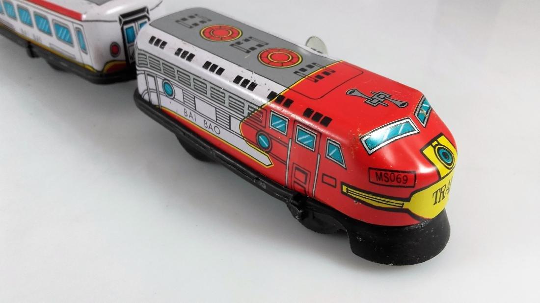 BIL-BAO wind-up train / friction steam locomotive - 4