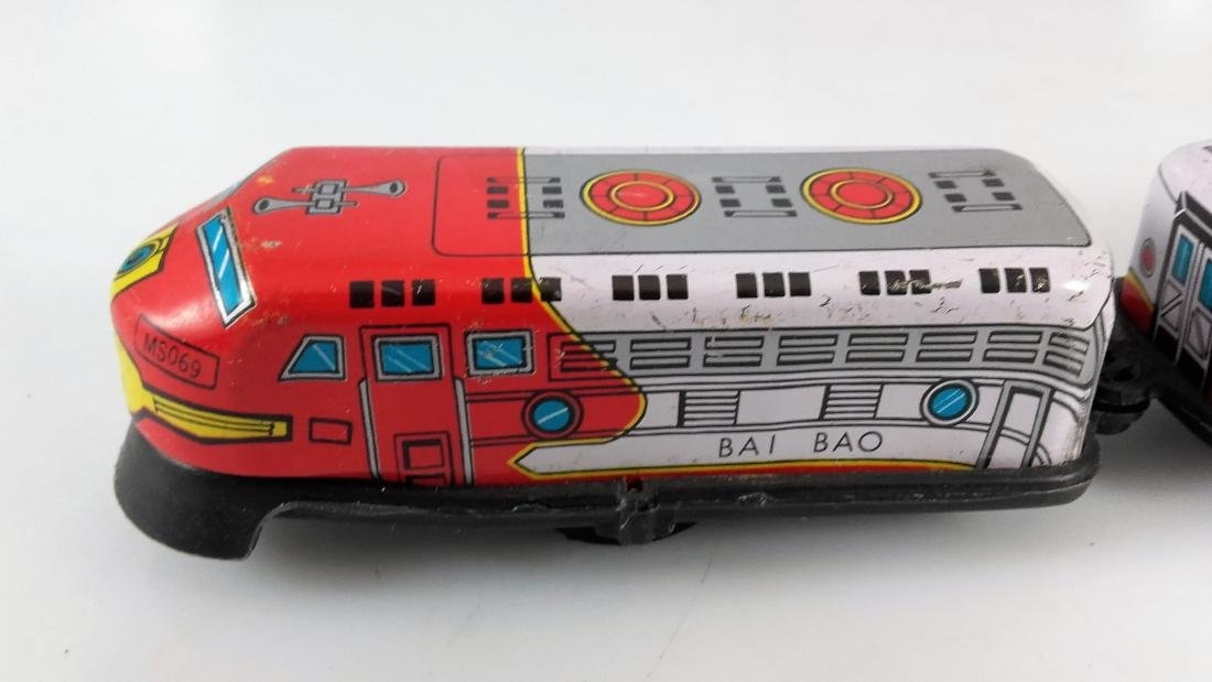 BIL-BAO wind-up train / friction steam locomotive - 6