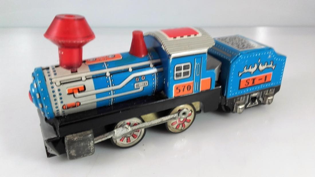 BIL-BAO wind-up train / friction steam locomotive - 8