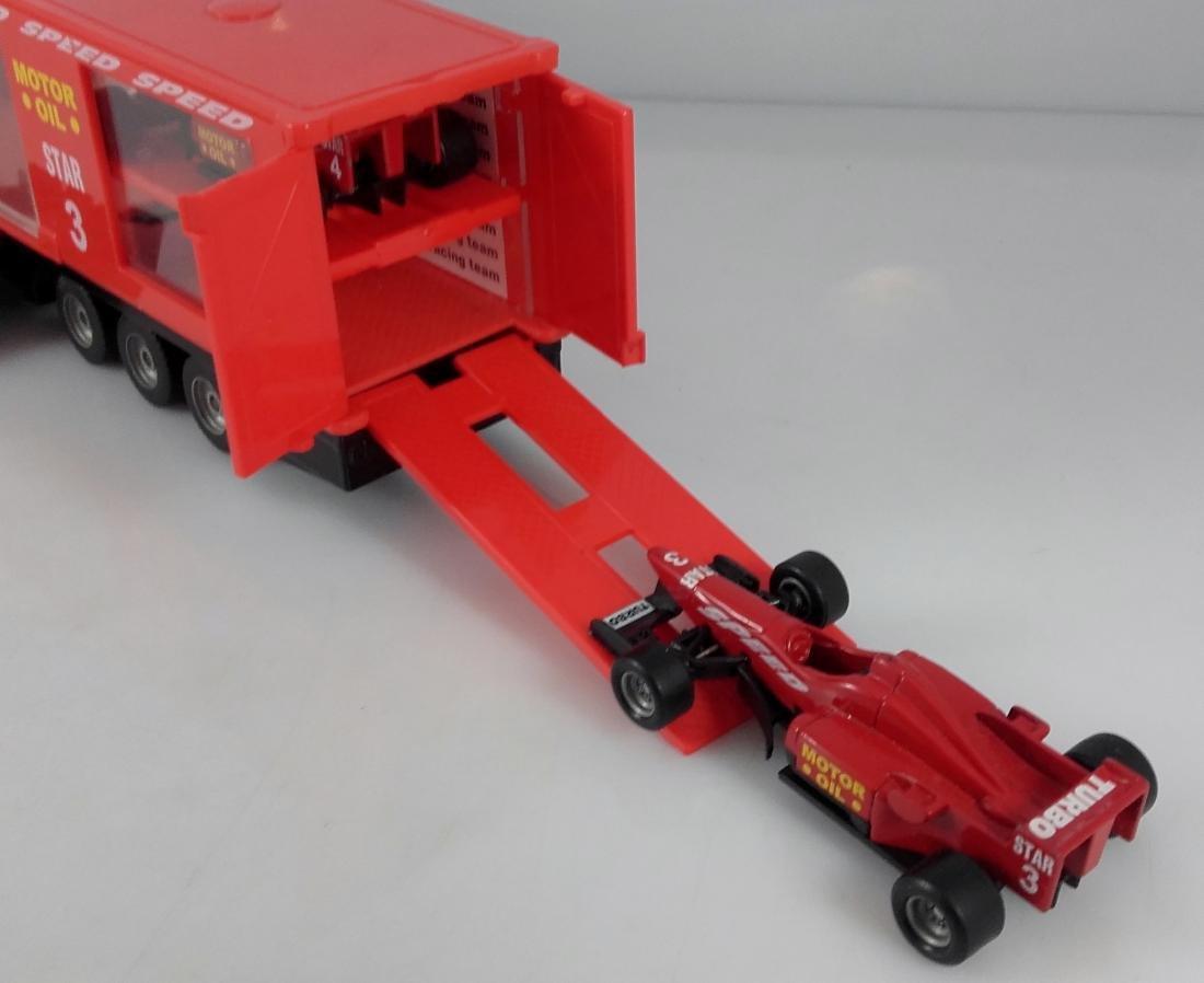 SIKU 1:87 Mercedes Actros 1857 Racing car transporter. - 7